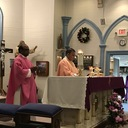 Blessing of Msgr. Patrizi Parish Hall photo album thumbnail 1